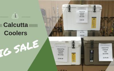 Calcutta Cooler Sale!