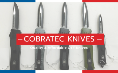 Tactical Knives with a Bite… CobraTec Knives now in-stock!