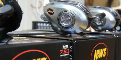 Catch a largemouth bass with these reels!